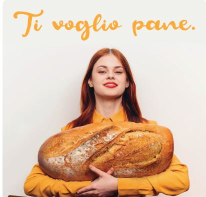 ti volgio pane