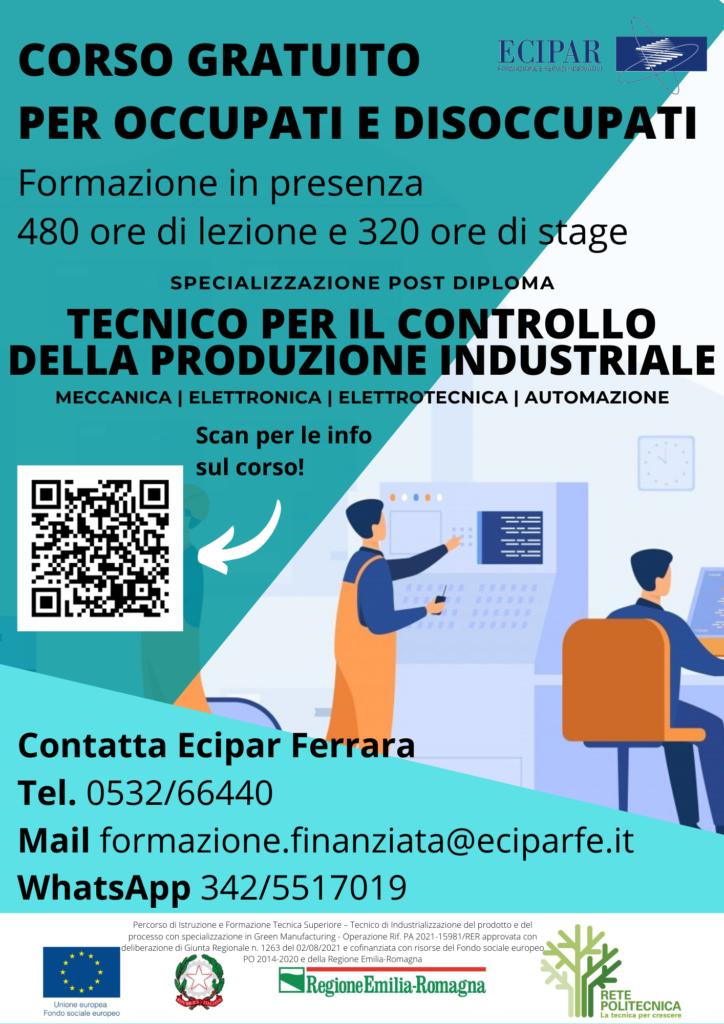 """Un tecnico """"verde"""" per rilanciare la produzione industriale: nuova proposta di Ecipar Ferrara"""